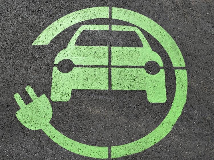 Místo pro nabíjení elektrických aut