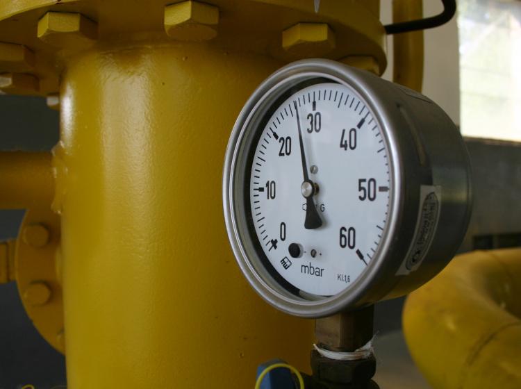 Potrubí se zemním plynem