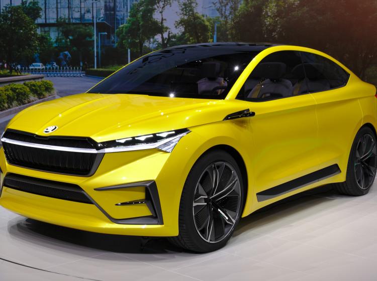 Škoda Vision iV - koncept elektrického SUV