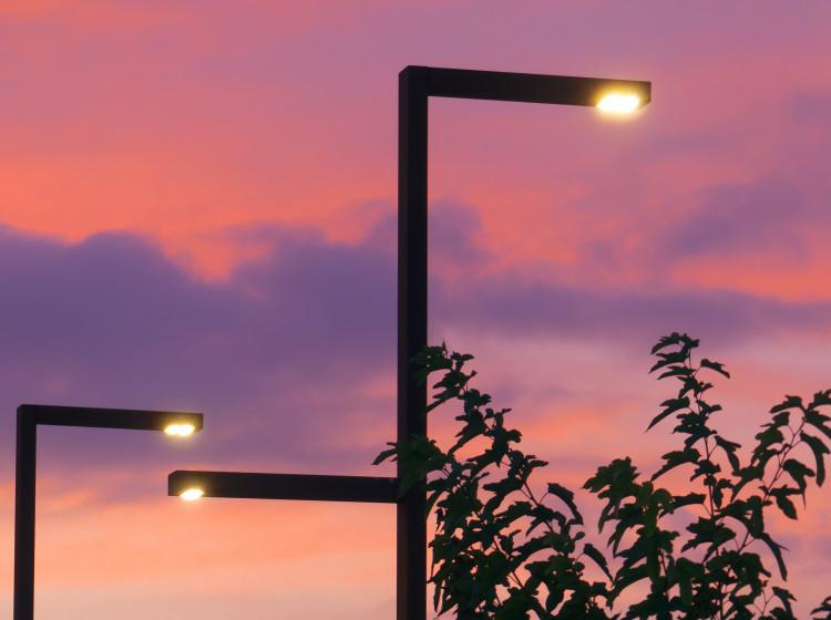 Pouliční LED lampa