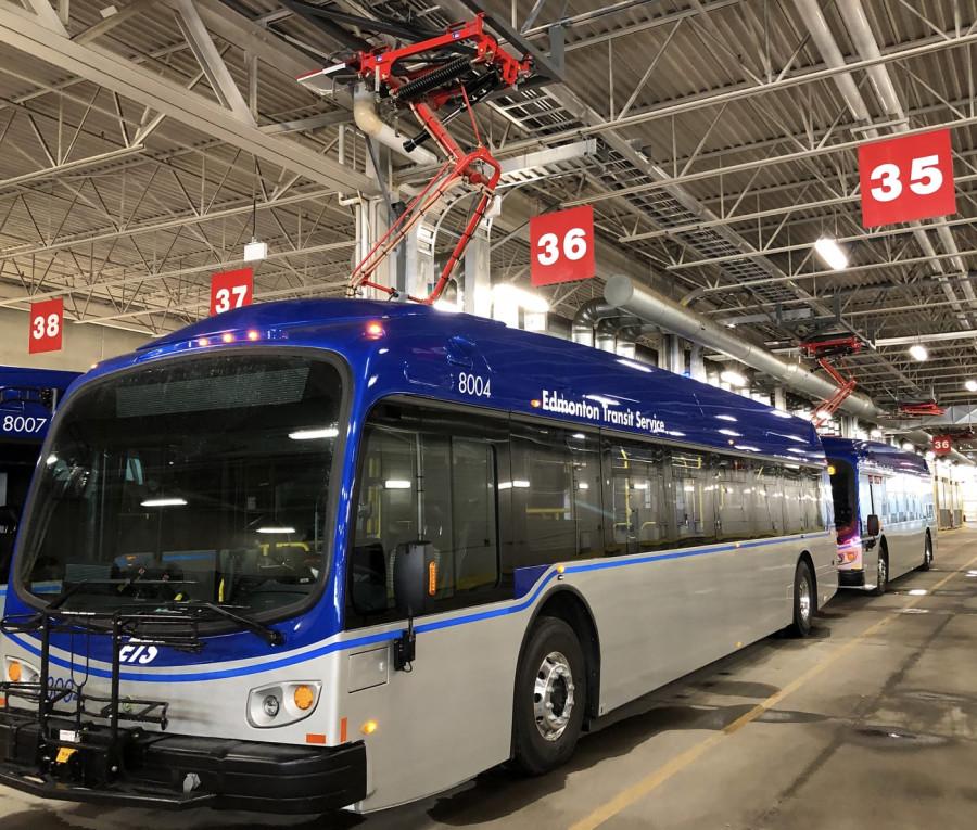 Elektrické autobusy v Edmontonu