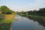 Řeka Bečva v Přerově