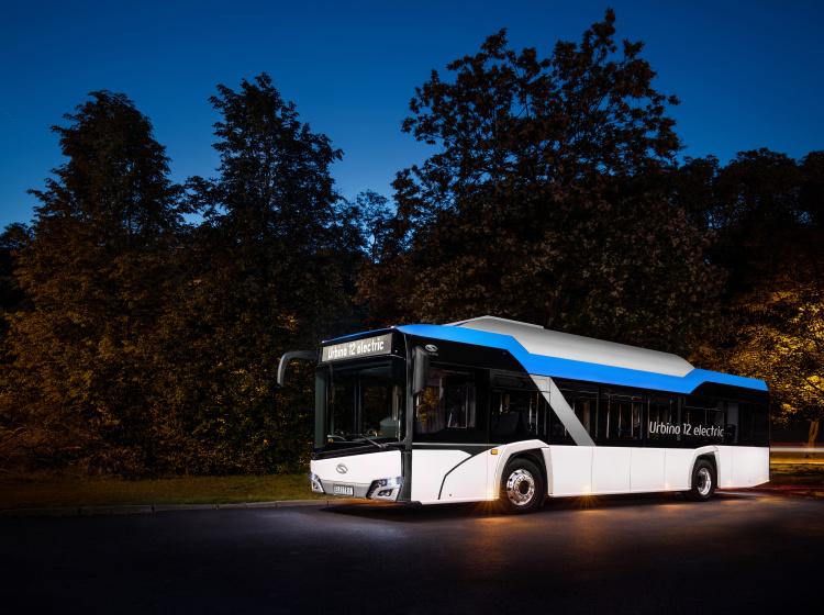 Elektrický autobus Solaris Urbino 12