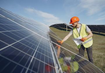 Kontrola fotovoltaických panelů