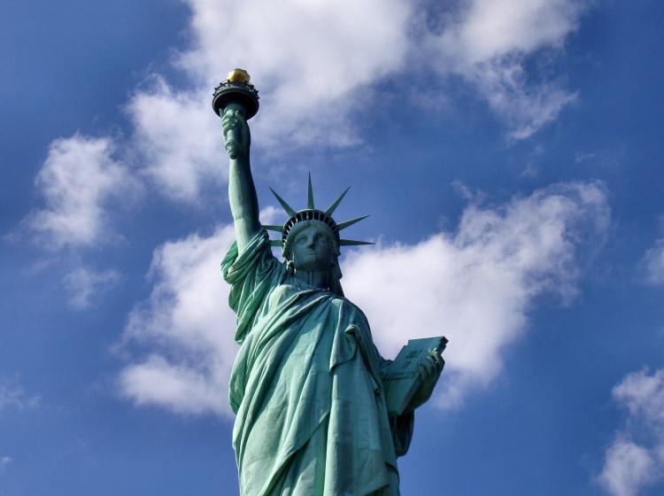 Socha Svobody - jeden ze symbolů USA