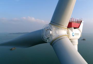 Megalomanská čínská větrná turbína