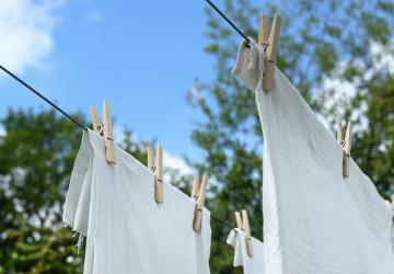 Sušení prádla na vzduchu