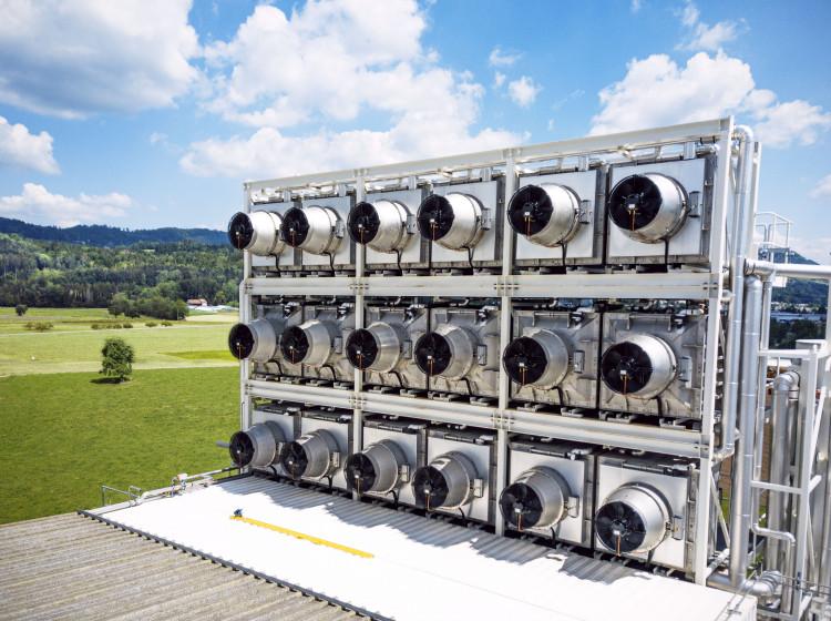 Climeworks - zachycování CO2 ze vzduchu