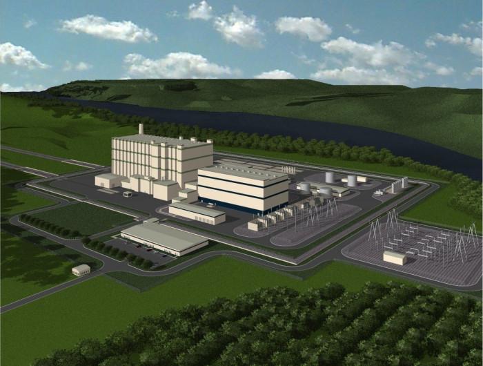 Vizualizace elektrárny TerraPower