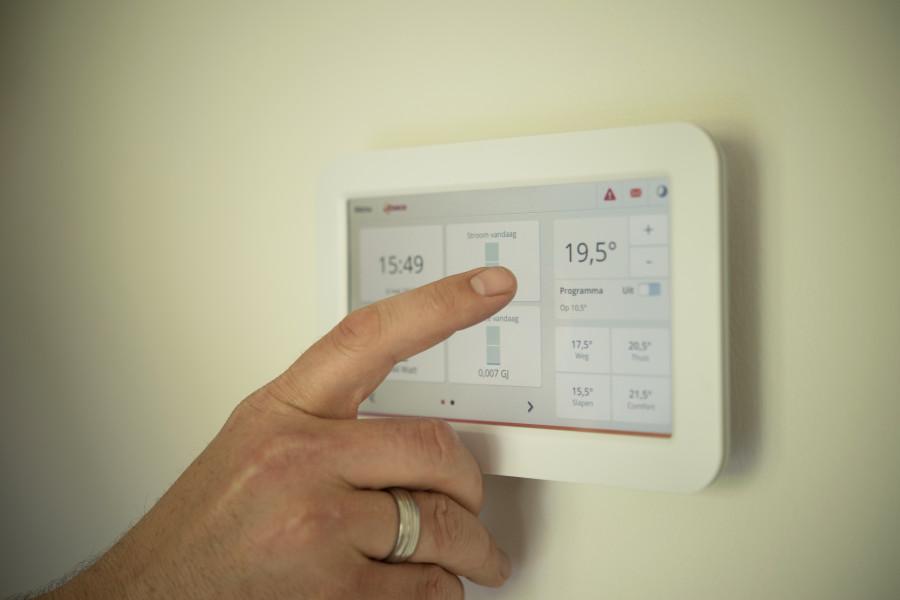 Moderní termostat