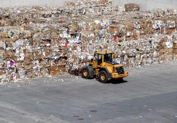Recyklace papíru