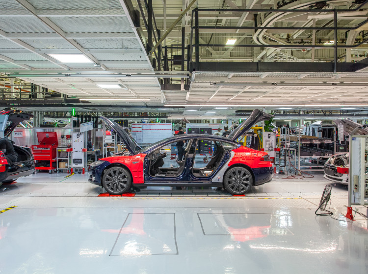 Továrna Tesla Fremont