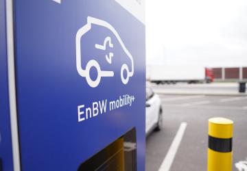 Nabíječka elektromobilů v Německu