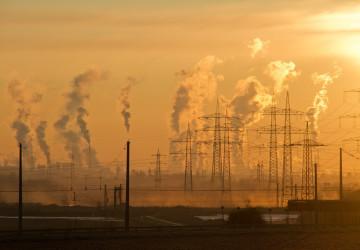 Kouřící komíny elektráren