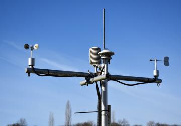 Meteorologická stanice (ilustrační foto)