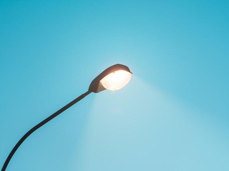 Lampa pouličního osvětlení