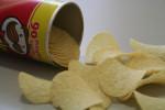 Plechovka bramborových lupínků Pringles