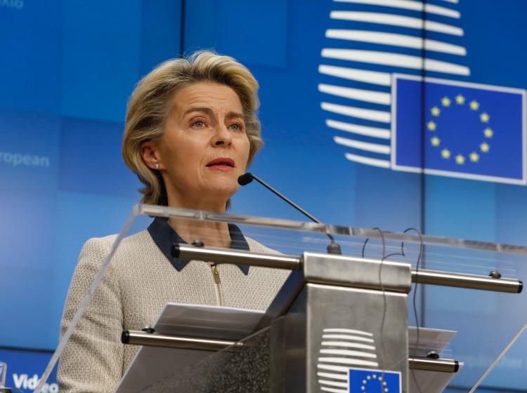 Ursula von der Leyenová - předsedkyně Evropské komise