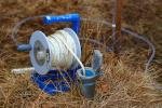 Měření hloubky vody v podzemním vrtu