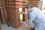 Kontejnery na bioodpad v Brně