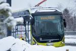 Elektrický autobus Volvo v Norsku