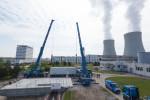 Práce v jaderné elektrárně Temelín