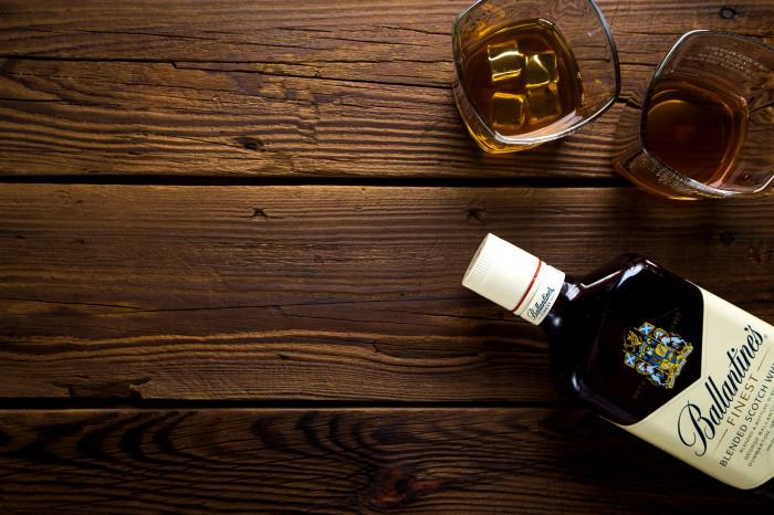 Skotská whisky Ballantines