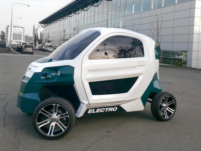 Elektromobil Fido (zdroj: tuni.tul.cz)