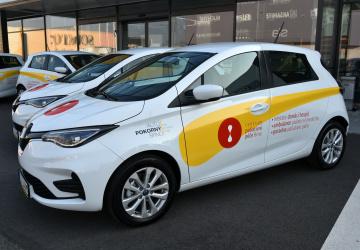 Nový elektromobil pro paliativní péči