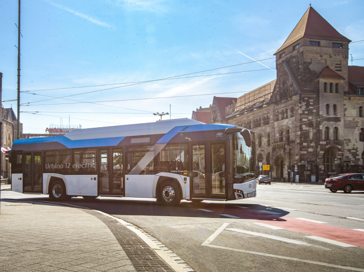Elektrický autobus Solaris Urbino