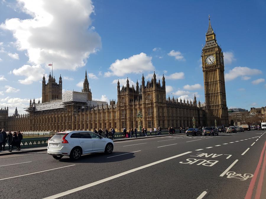 Provoz v Londýně