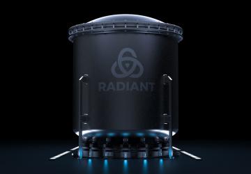 Jaderný reaktor společnosti Radiant