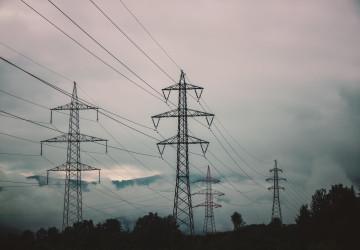 Stožár pro distribuci elektrické energie