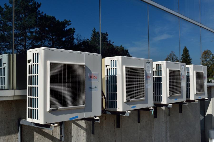 Venkovní jednotka nástěnné klimatizace