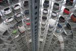 Sklad nově vyrobených vozidel Volkswagen