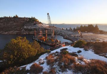 Příprava podzemního úložiště CO2 Northern Lights