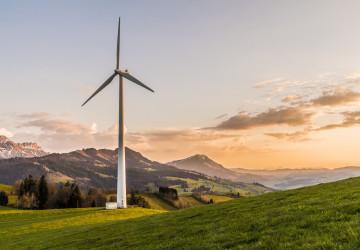 Turbína větrné elektrárny