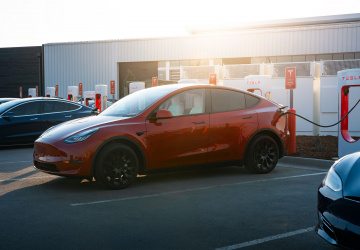 Supercharger od Tesly