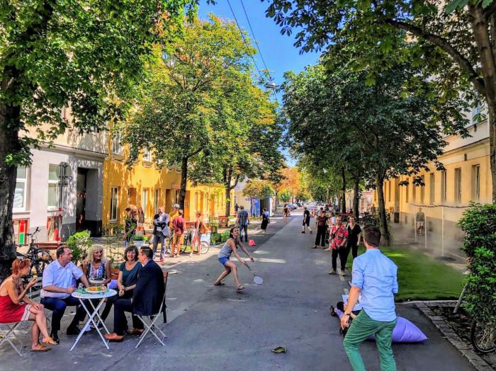 COOL uličky ve Vídni