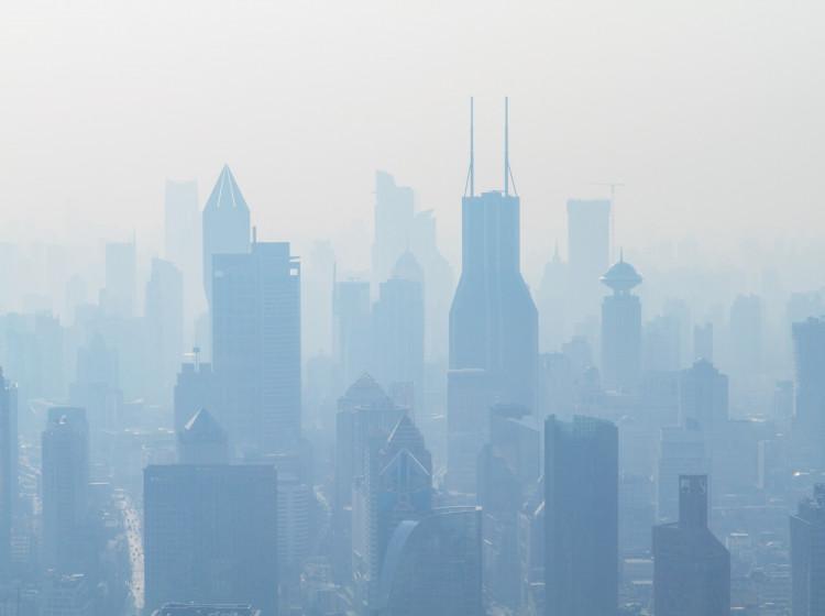 Smog v Šanghaji