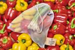 Opakovatelně použitelné sáčky na ovoce a zeleninu