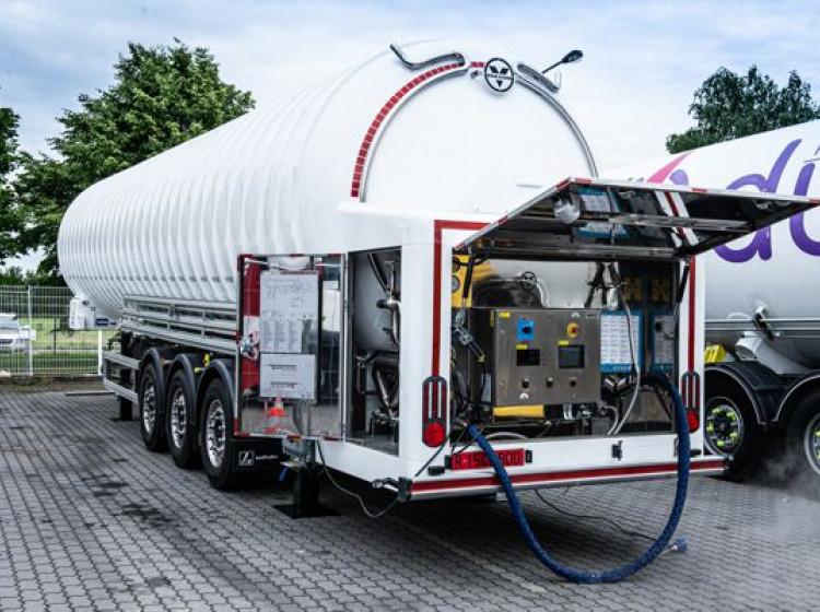 Plnička LNG - GasNet