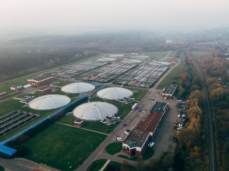 Čistírna odpadních vod (ilustrační foto)