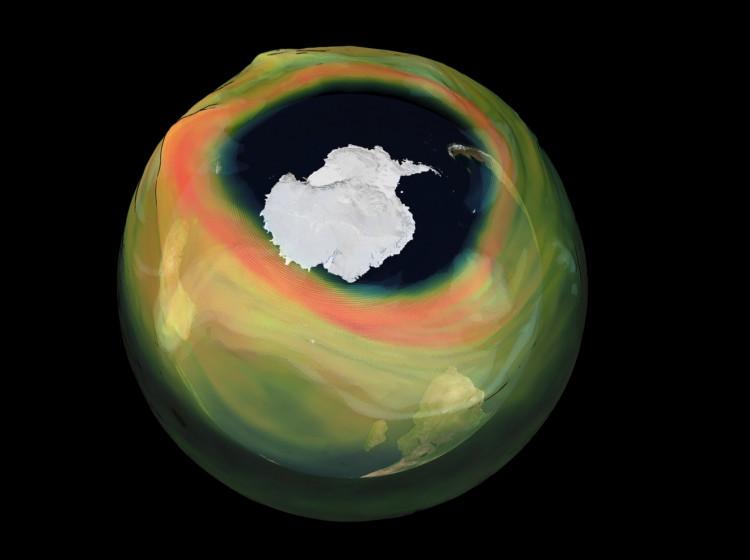 Ozónová vrstva země