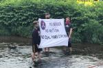 Protesty proti rozšiřování dolu Turów