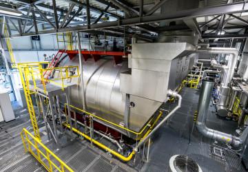 Nová plynová kotelna ve Spolaně