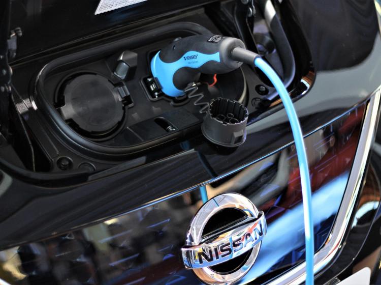 Nissan Leaf - nabíjení