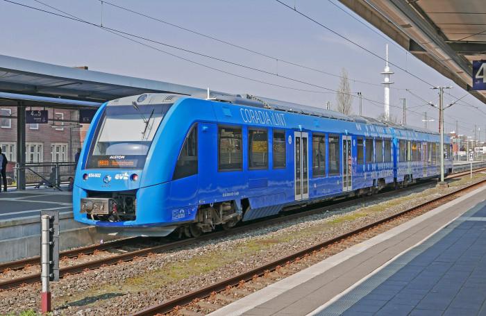 Vlaková souprava na vodíkový pohon